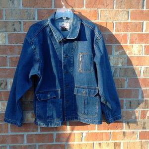 MAC Sport Jean Men's Size Large Work Barn Jacket